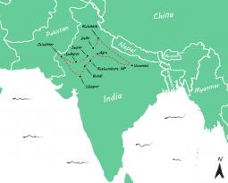 Route India: een rondreis van 6 weken India