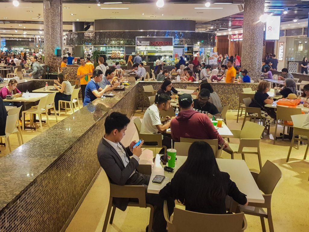 foodcourts in Kuala Lumpur