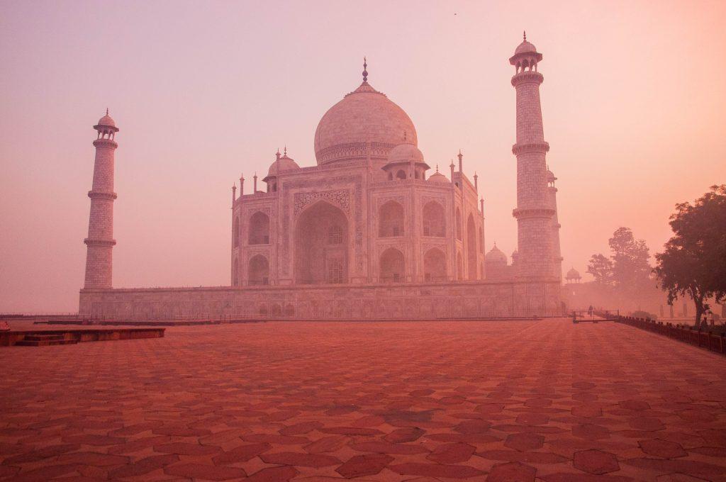 wat kost backpacken in azië? India Taj Mahal