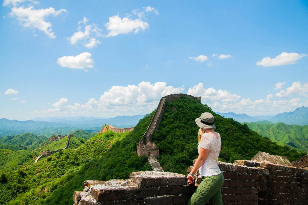 wat kost backpacken in azië? Chinese Muur