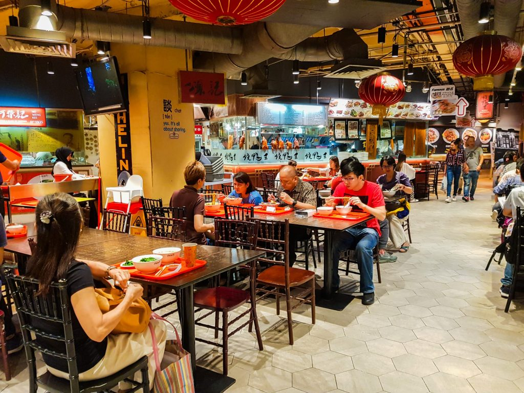de leukste wijken in Kuala Lumpur - Hutong foodcourt Bukit Bintang