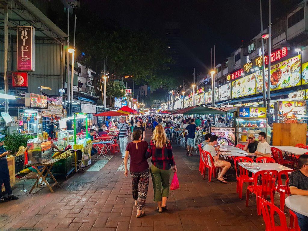 de leukste wijken in Kuala Lumpur - Jalan Alor