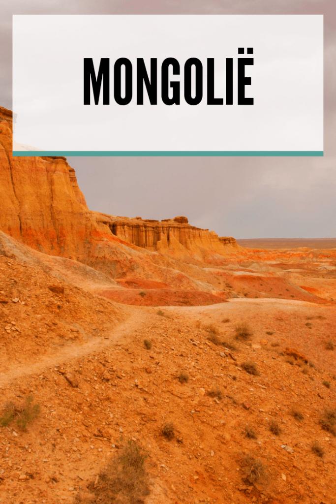 Backpacken in Mongolië