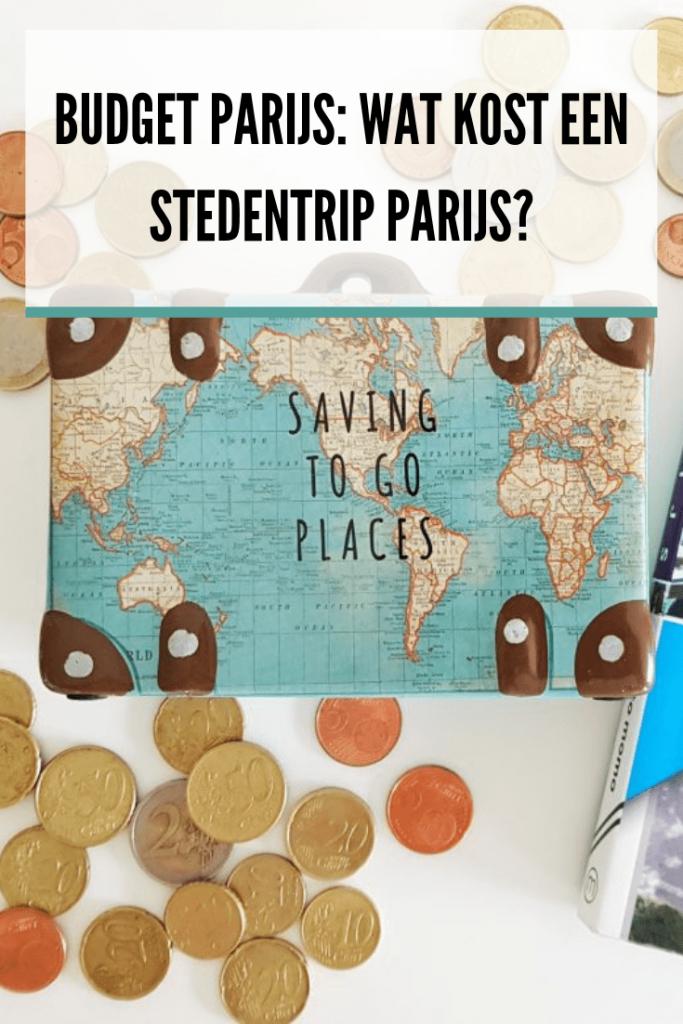 Budget Parijs, kosten Parijs