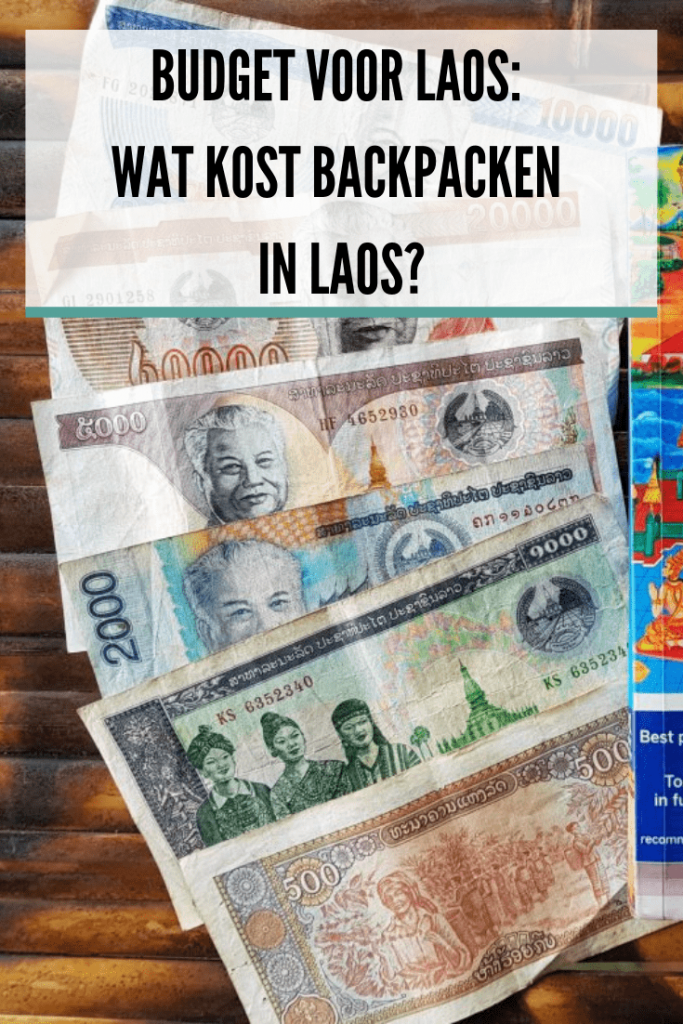 budget Laos: wat kost backpacken in Laos?