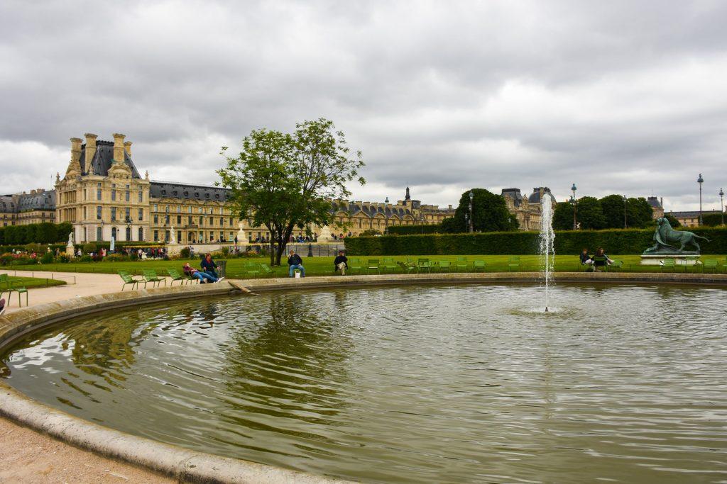 bezoek aan het Louvre Parijs