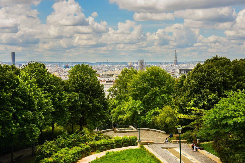 tips voor Parijs Parc Belleville