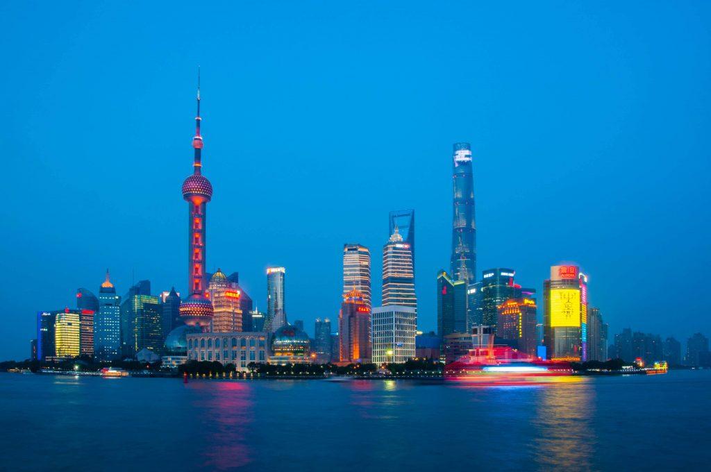 Route China Shanghai