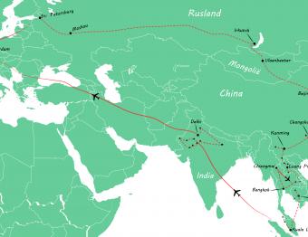 Onze wereldreisroute van 6 maanden: waar zijn we geweest?