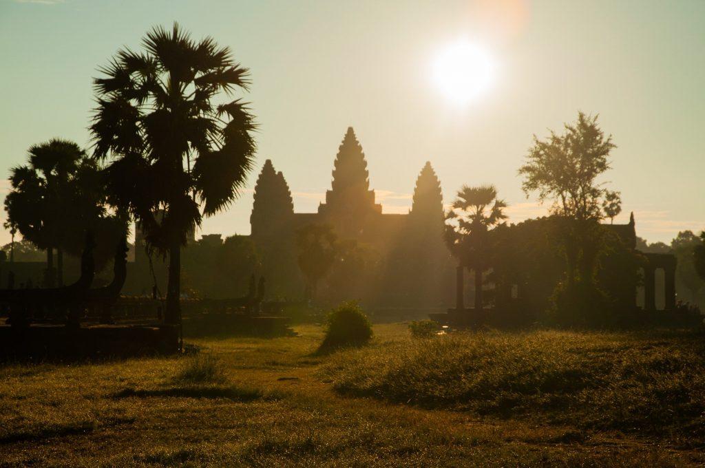 Angkor Wat zonder mensen