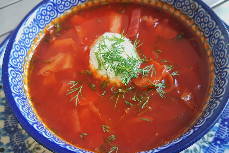 Recept voor borsch: zo maak je rode bietensoep uit Rusland!